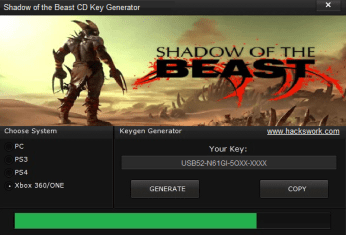 Shadow of the Beast CD Key