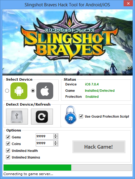 Slingshot Braves Hack (Android/iOS)