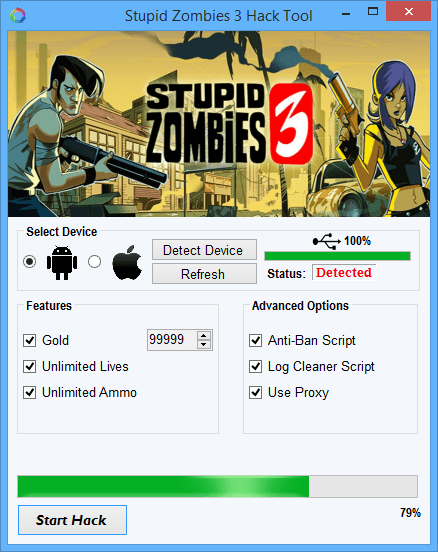 Stupid Zombies 3 Hac
