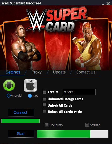 WWE SuperCard Hack (Android/iOS)