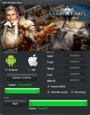 Clash of Kings Hack – Unlimited COK Gold Cheat