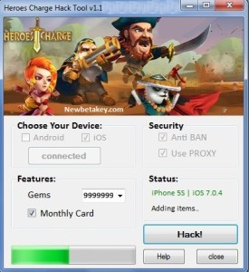 Heroes Charge Hack – Unlimited Gems
