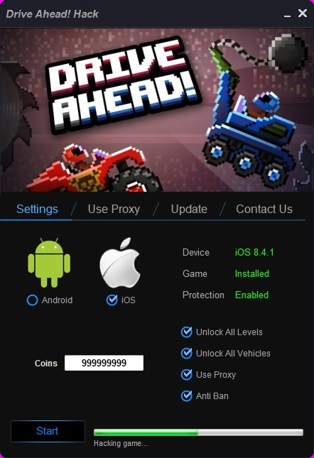 Drive Ahead! Hack Cheats