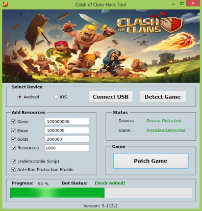 CLASH OF CLANS HACK CHEAT