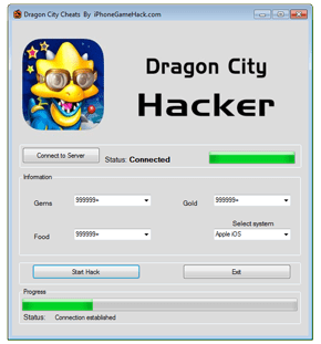 Dragon City Cheats Hack Gold Gems Food