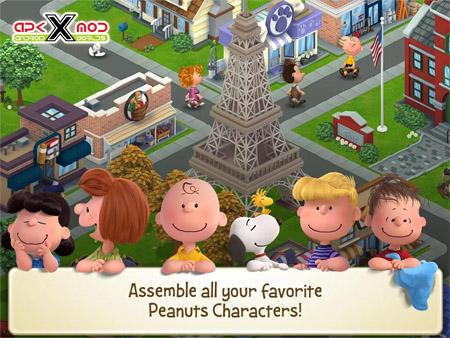 Peanuts: Snoopy's Town Tale v2.5.6 Hack