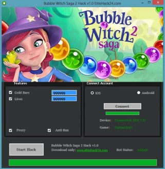 Bubble Witch 3 Saga Hack Cheats