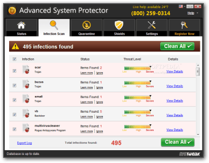 Advanced System Protector 2.1 License Key