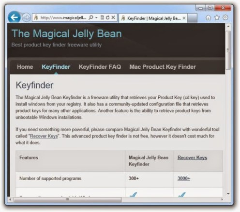 Magical JellyBean Keyfinder Crack