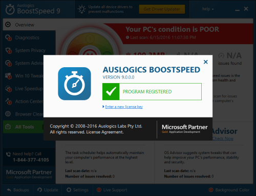 Auslogics BoostSpeed 9.0.0 Crack & Keygen