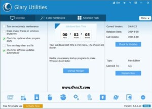 Glary Utilities Pro Key 2015 Crack, Keygen Free Download