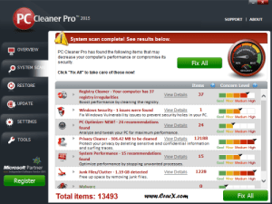 PC Cleaner Pro 2015 License Key + Crack Full Free Download