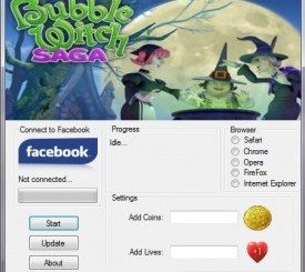 Bubble Witch Saga Hack Tool