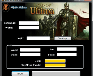 Lord of Ultima Hack