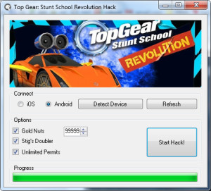 Top Gear Stunt School Revolution Hack