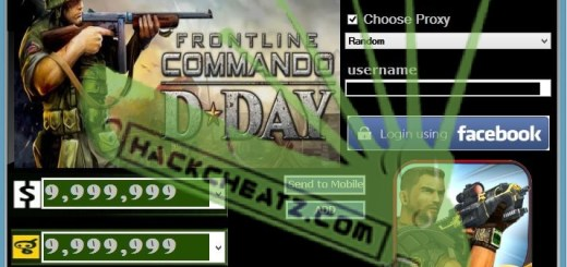 FRONTLINE COMMANDO D-DAY Hack Cheat Tool