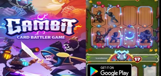 Hack Gambit Real-Time PvP Card Battler for Android iOS
