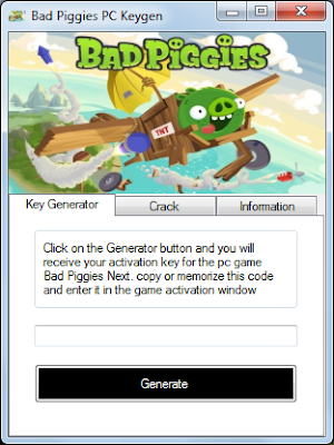 BAD PIGGIES SERIAL KEY GENERATOR