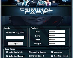 CRIMINAL CASE HACK TOOL [ULTIMATE VERSION]