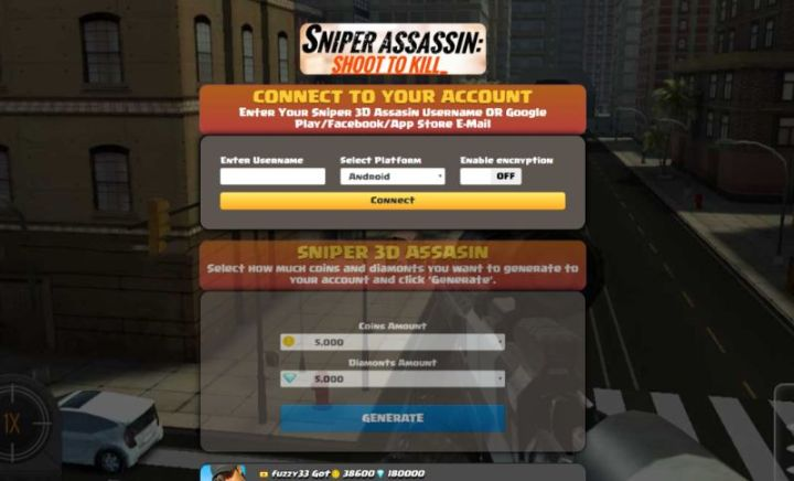 Sniper 3D Assassin hack 2019