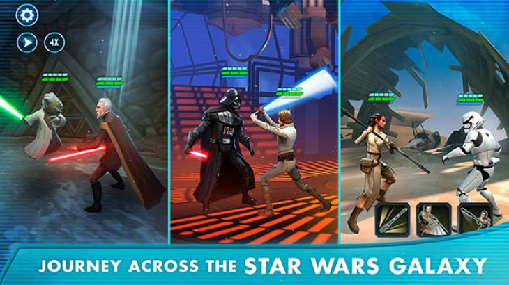 Star Wars: Galaxy of Heroes 0.19 (MOD Unlimited Energy)