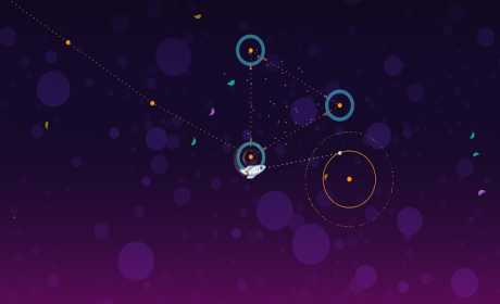 Little White Rocket – Relax & calm down in space Apk for Android