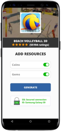 Beach Volleyball 3D MOD APK Unlimited Coins Gems
