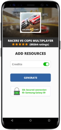 Racers Vs Cops Multiplayer MOD APK Unlimited Credits