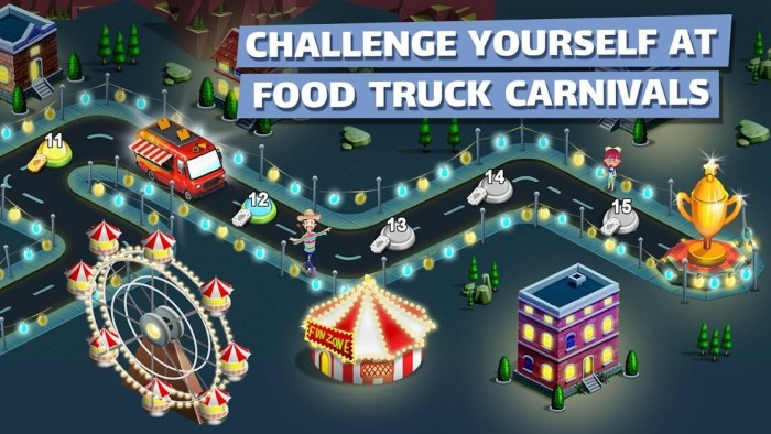 food truck chef gameplay second