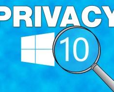 Easily Stop Microsoft Spying on Windows 10