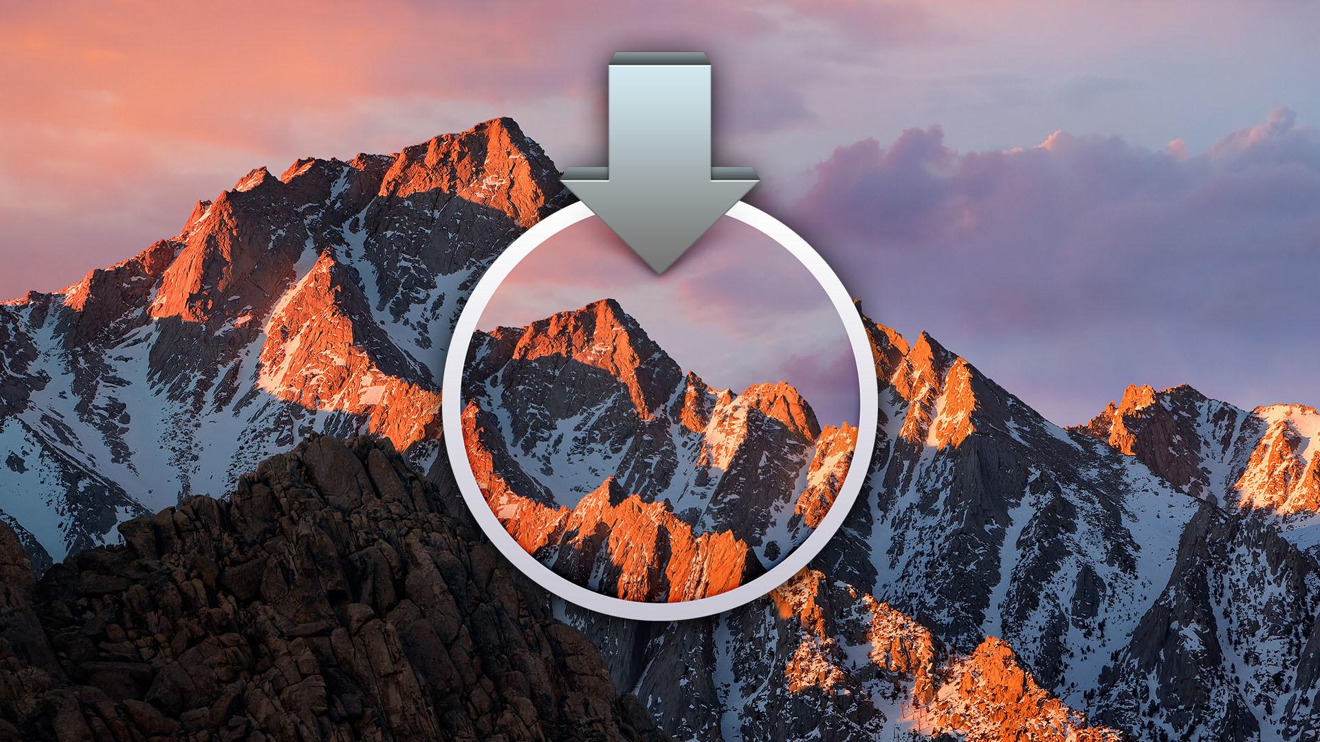 high sierra download offline
