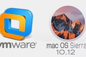 MacOS Sierra VMWARE installation Image