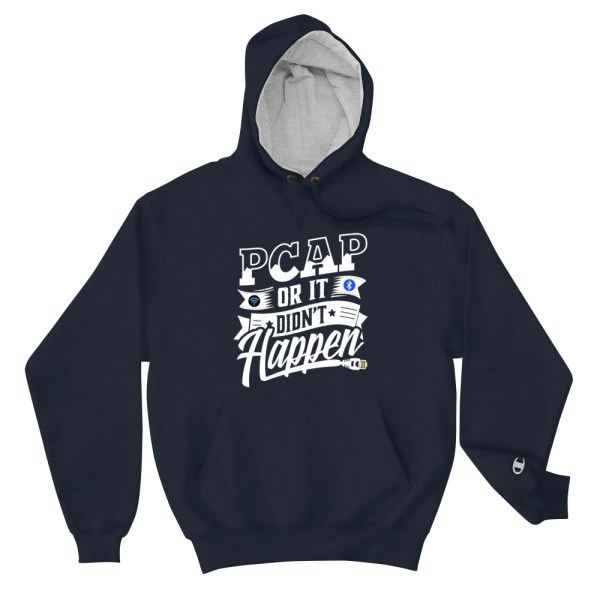 PCAP Champion hoodie