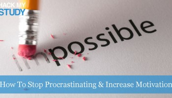 How can I overcome procrastination and concentrate on writing a paper?