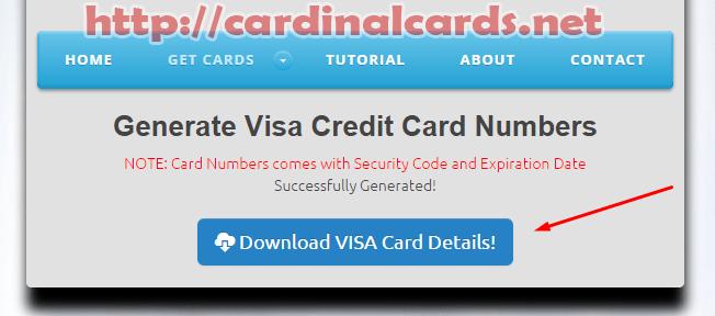 Credit And Visa Cvv Number Card 2019