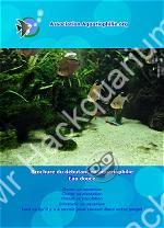 """Cover """"brochure débutant en aquariophile eau douce"""""""