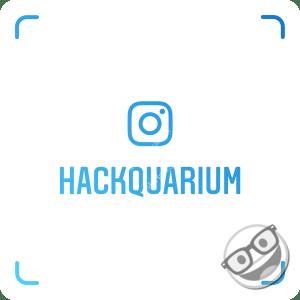 compte instagram @hackquarium
