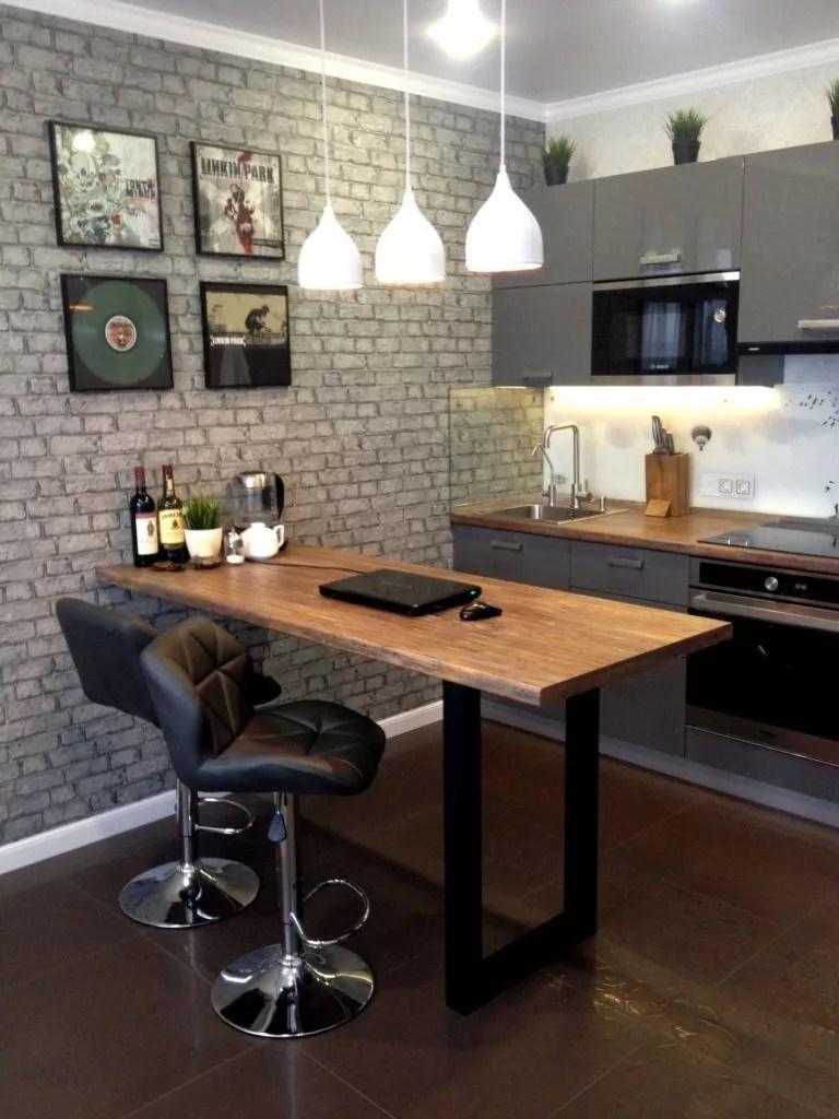 Brick Wallpaper Kitchen Ideas   Novocom.top