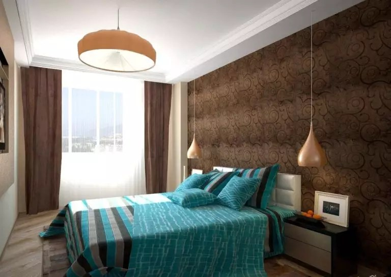 Chocolate Brown And Turquoise Bedroom Novocom Top