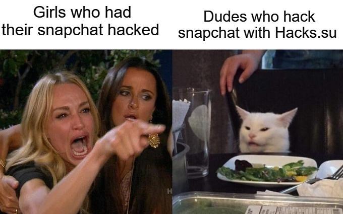 Snapchat hack mem