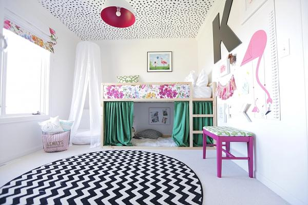 Ikea KURA Colorful Bed and Den