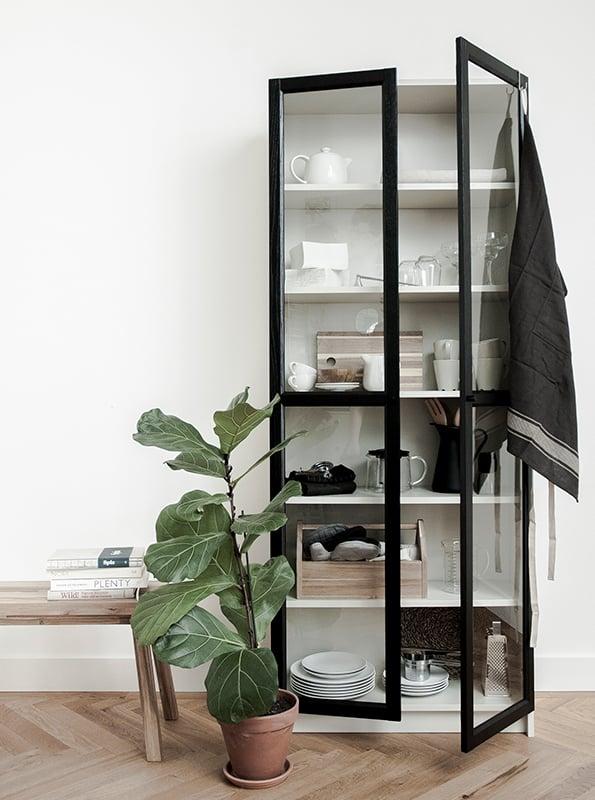Ikea BILLY Glass Door Cabinet Hack