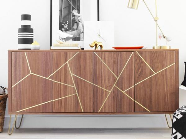 Ikea STOCKHOLM Gold Inlay Sideboard Hack