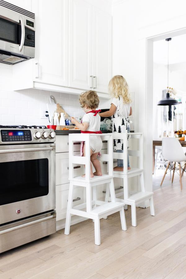 Ikea BEKVAM Kids Learning Tower Hack