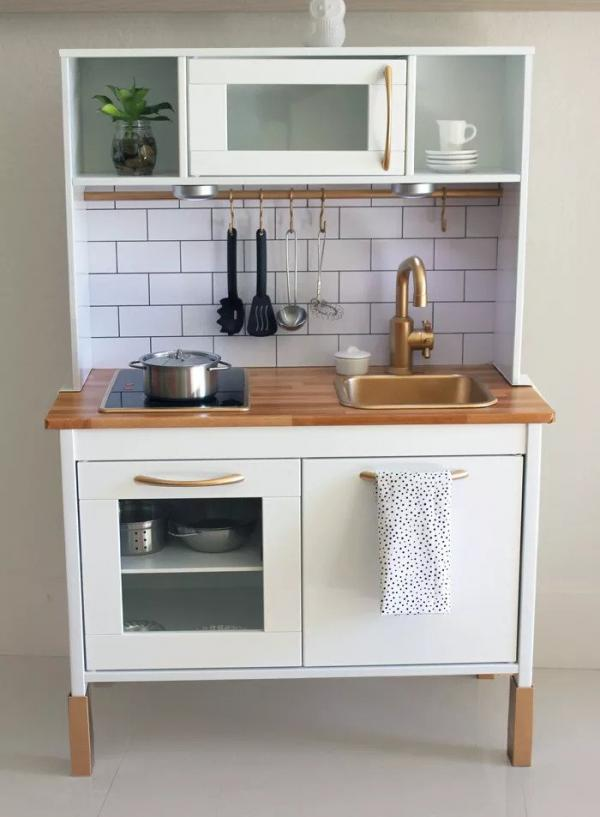 Ikea DUKTIG Glam Play Kitchen Hack