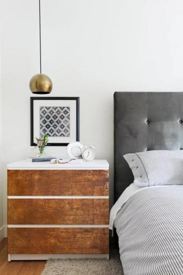 Ikea MALM Rust Fronted Dresser Hack