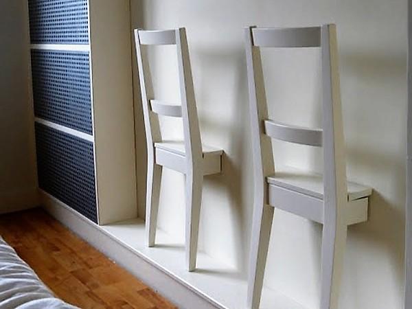 Ikea STEFAN Sunken Chair Clothes Horse Hack
