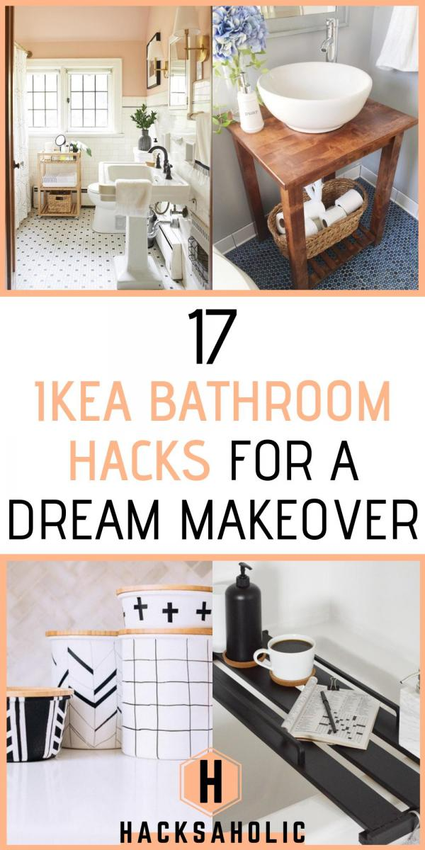 17 Ikea Bathroom Hacks For A Dream Makeover Hacksaholic