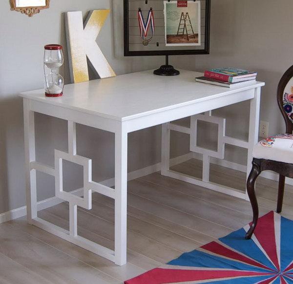 Ikea Chic Modern Desk Hack