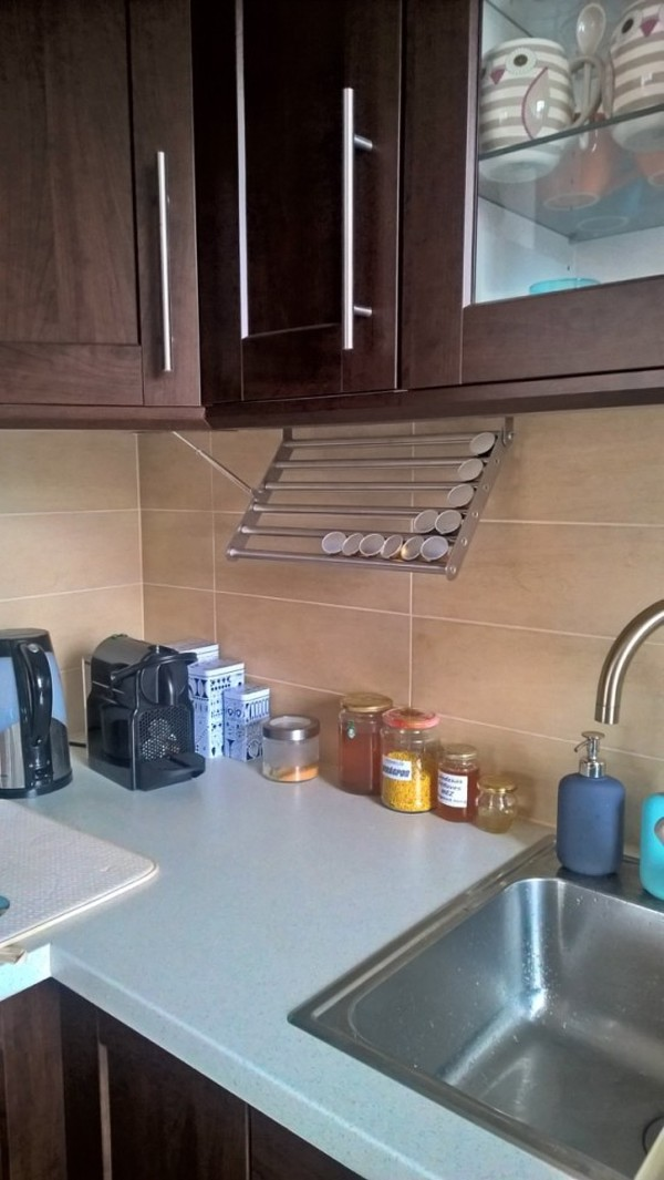 Ikea GRUNDTAL Kitchen Coffee Capsule Rack Hack